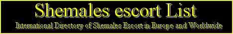 Shemale Escorts